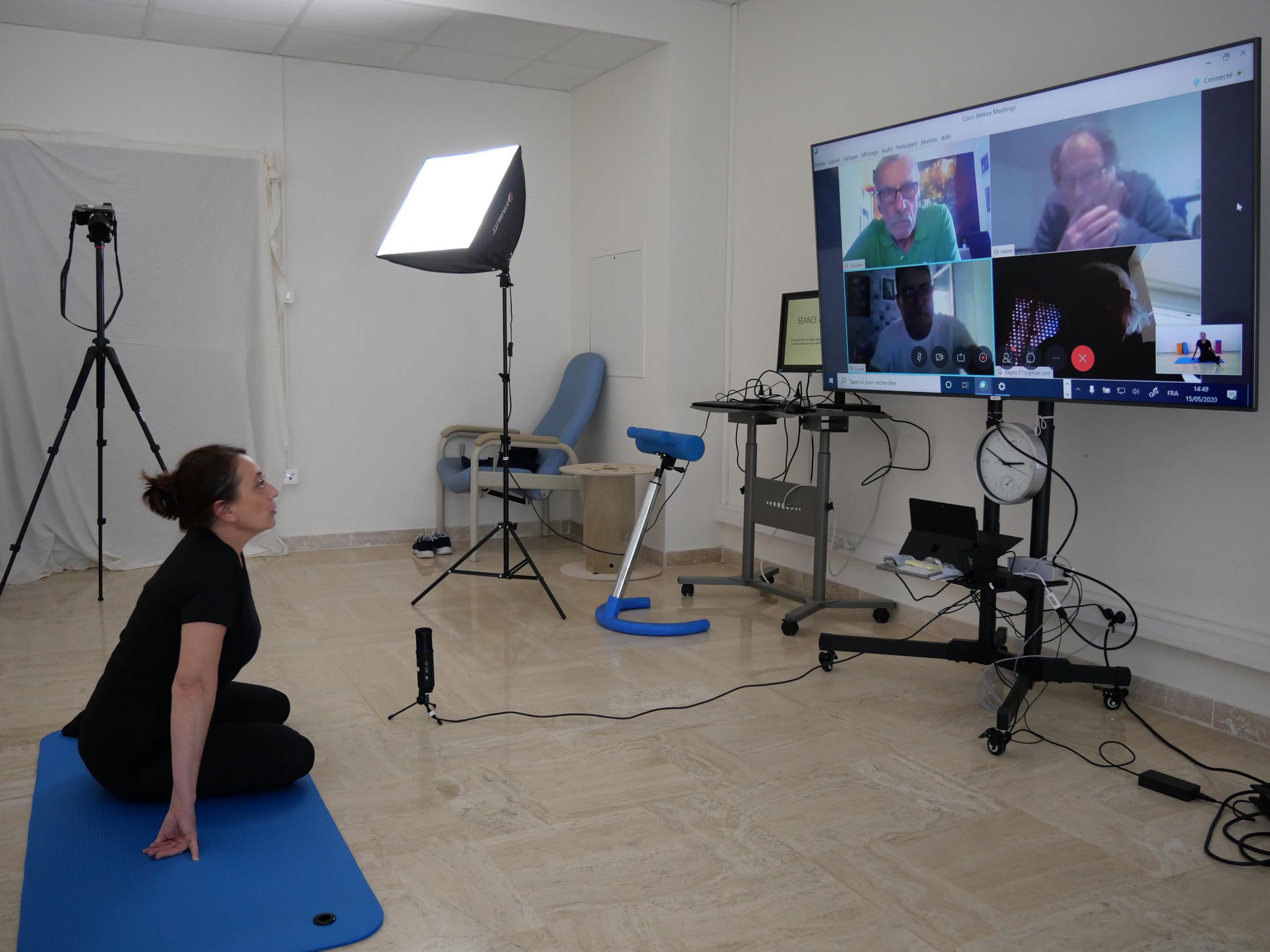 Télé-Réhabilitation au centre de rééducation Paul Cézanne à Mimet